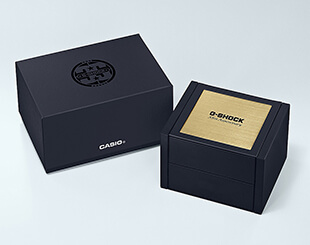 G-Shock Gold Tornado Box
