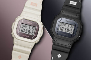 Pigalle x G-Shock DW5600PGW-1 DW5600PGW-7 Collaboration Watches