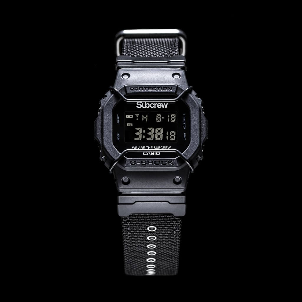 Subcrew X G Shock Dw 5600subcrew 1 Collaboration Watch G Central G