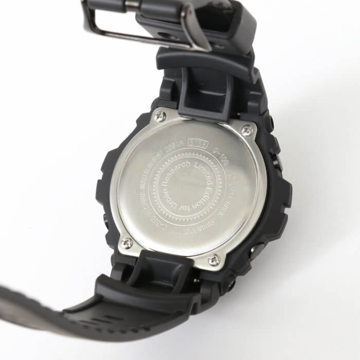 Urban Research x G-Shock G-100-1BMJF 2017 Case Back