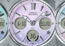 Baby-G BGA-100ST Starry Sky Series Face