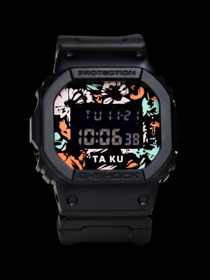 TA-KU x G-Shock DW5600TA-KU-1D Collaboration Watch