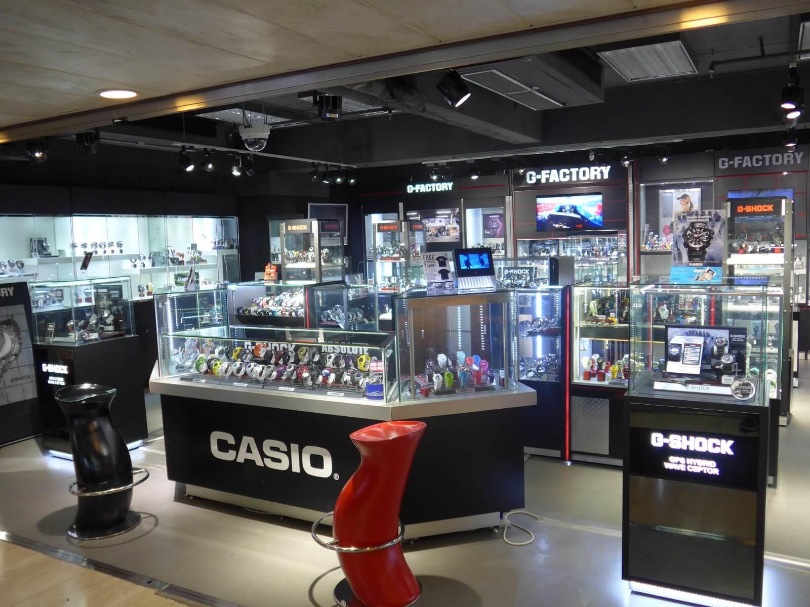 casio watch store