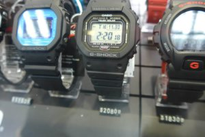 GW-5000-1JF and GW-M5610 models discontinued, replaced by GW-5000U-1JF and GW-M5610U with updated module