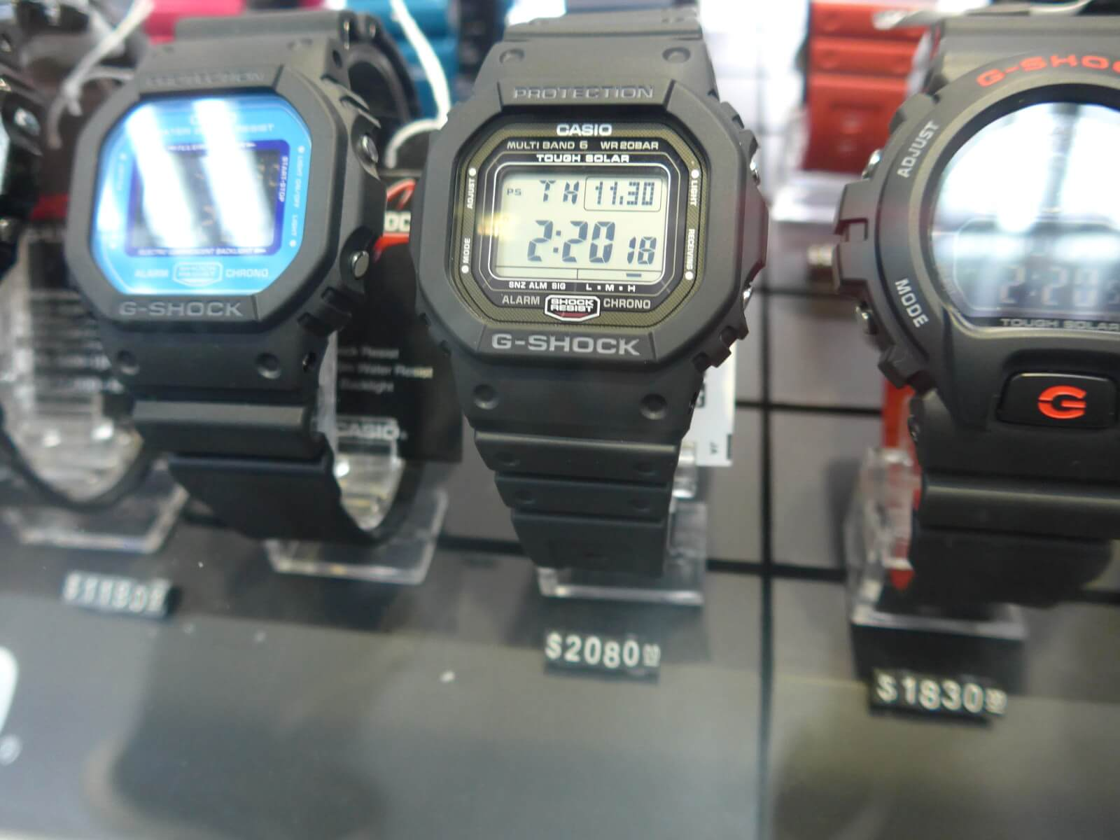 2a4a68ec4e52 ... which is better than the usual Amazon and eBay prices. They also had a  DW-5030C-1 screw back model from the 30th Anniversary for $2580 HKD  (~$330.32 ...
