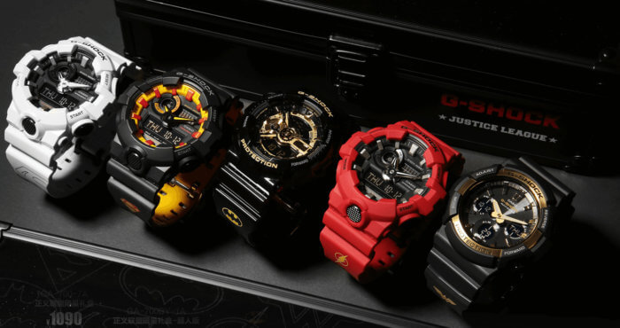 Justice League x G-Shock Watches