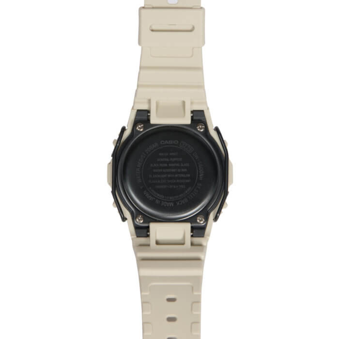 N. Hoolywood x G-Shock DW-5600NH-7JR Case Back
