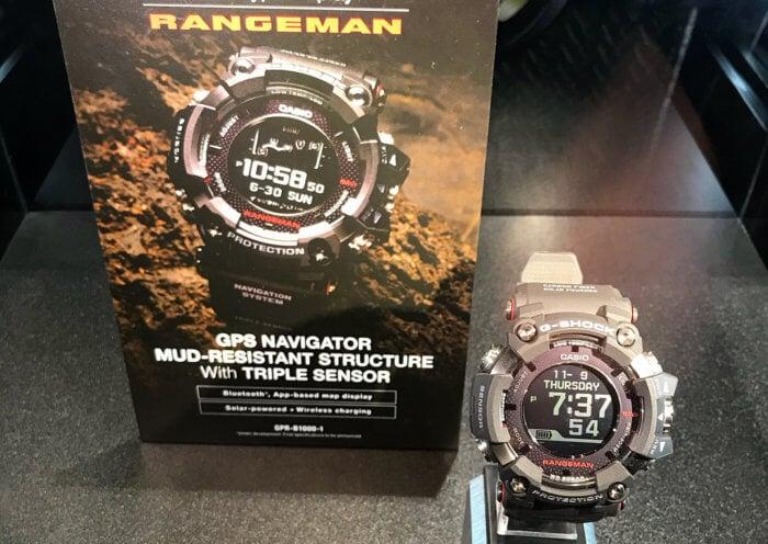 New G-Shock Rangeman GPR-B1000-1 GPS Navigation System 2018