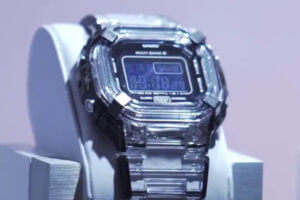'Premium Model' Sapphire Crystal G-Shock revealed