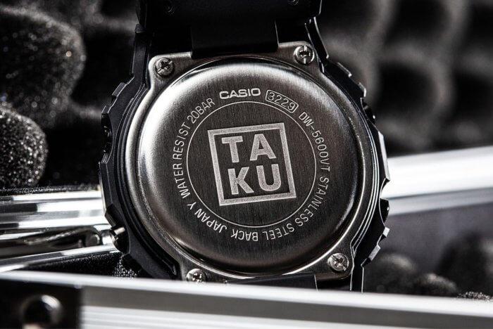 TA-KU x G-Shock Case Back