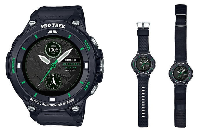 a01d3f30d99 Casio has released a limited winter sports edition of its WSD-F20 Smart  Outdoor Watch. The Pro Trek WSD-F20X is limited to 200 units and includes  two bands  ...