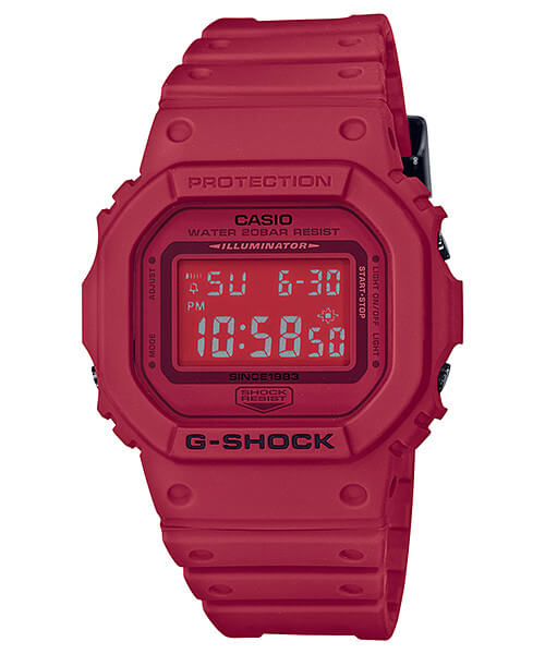 G-Shock DW-5635C-4 35th Anniversary Red Out Edition