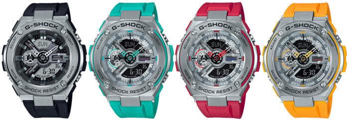 G-Shock G-STEEL GST-410 GST-410-1AJF GST-410-2AJF GST-410-4AJF GST-410-9AJF