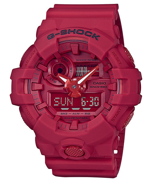 G-Shock GA-735C-4A 35th Anniversary Red Out Edition