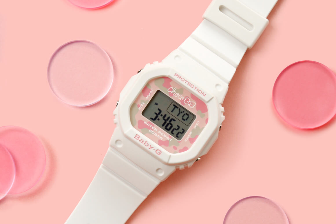 37c757bc8be4 Online messaging app company Line and Casio have teamed up for the release  of the Baby-G x Line Friends Limited Edition Choco Watch in Japan.