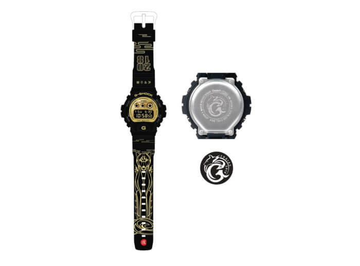 G-Shock DW-6900CB-1CNY18 Chinese New Year 2018 Year of the Dog
