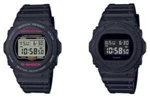 G-Shock DW-5700 DW-5750 DW-5750E-1D DW-5750E-1B