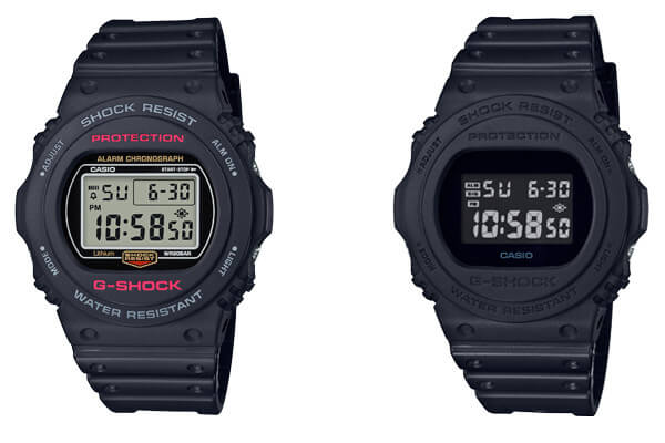 G-Shock DW-5700 Revival with DW-5750E-1 and DW-5750E-1B – G-Central ... 5218972bd