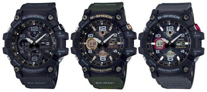 G-SHOCK GWG-100 MUDMASTER GWG-100-1A GWG-100-1A3 GWG-100-1A8