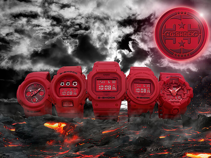 35th G-Shock Anniversary Red Out