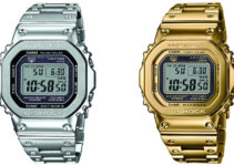 G-SHOCK GMW-B5000D-1 GMW-B5000TFG-9 Stainless Steel Tough Solar Bluetooth