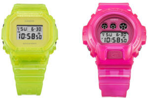 G-Shock DW-6935-4 DW-5635-9 Nigo and Kikuo Ibe 35th Anniversary Limited Edition Watches