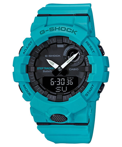G-Shock G-SQUAD GBA-800-2A2 Blue