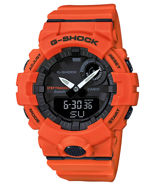G-Shock G-SQUAD GBA-800-4A Orange