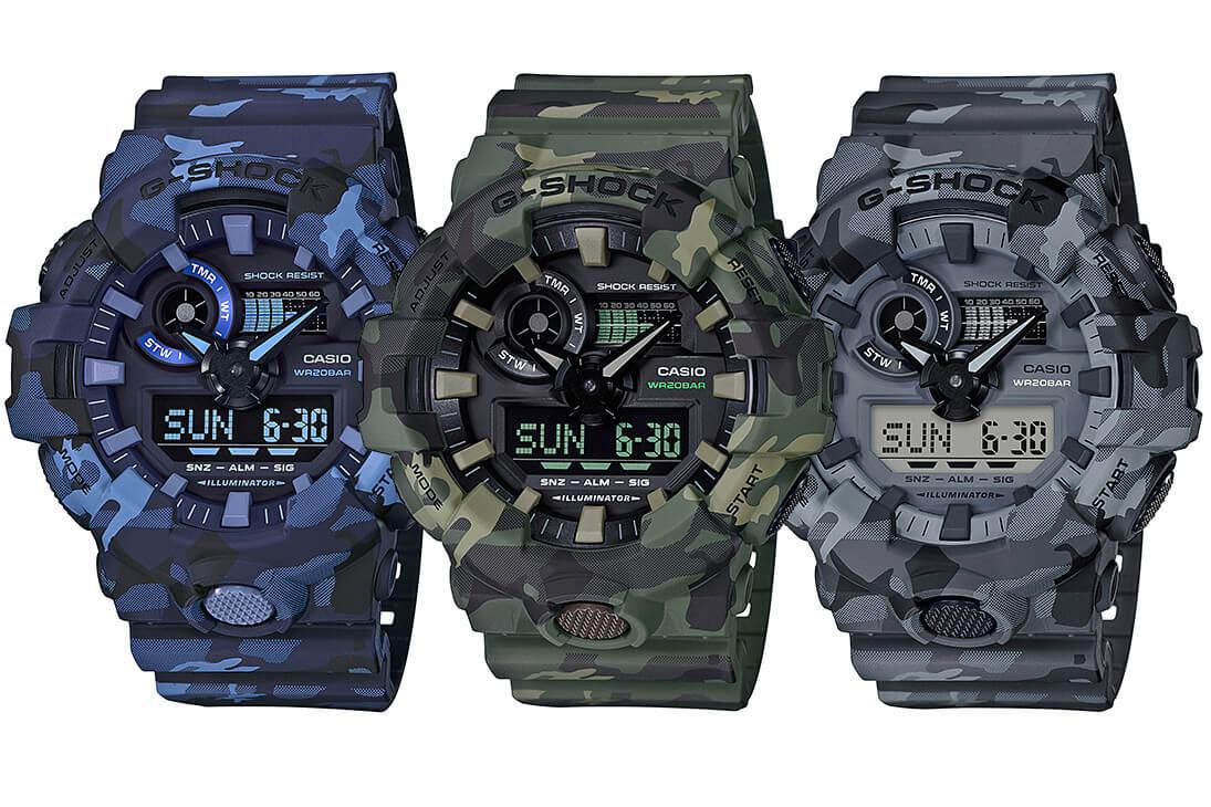G Shock Ga 700cm Camouflage Series G Central G Shock Watch Fan Blog