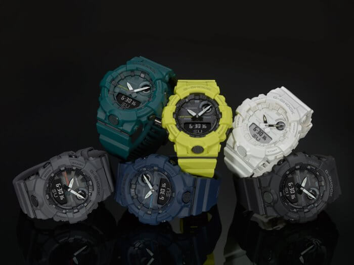 G-Shock G-SQUAD GBA-800 Step Tracker Bluetooth