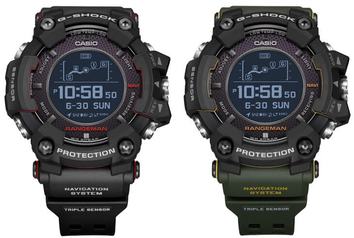 def830797fea0 G-Shock Rangeman GPR-B1000 with GPS Navigation – G-Central G-Shock ...