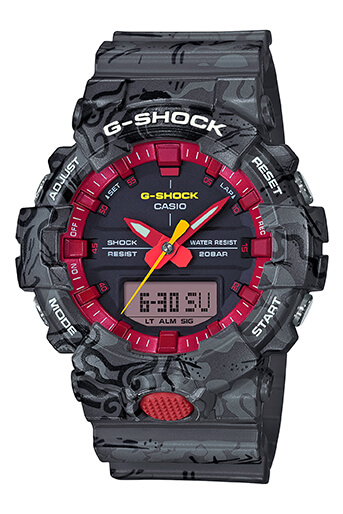 G-Shock GA-800CG-1A Black Turtle