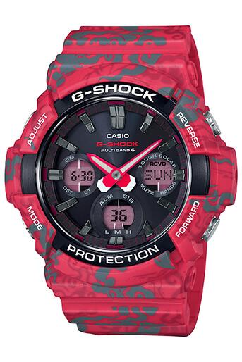 G-Shock GAW-100CG-4A Vermilion Phoenix