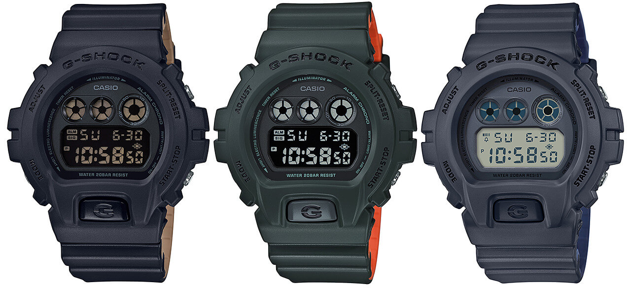 G Shock Dw 5600lu And Dw 6900lu Military Series G Central G Shock