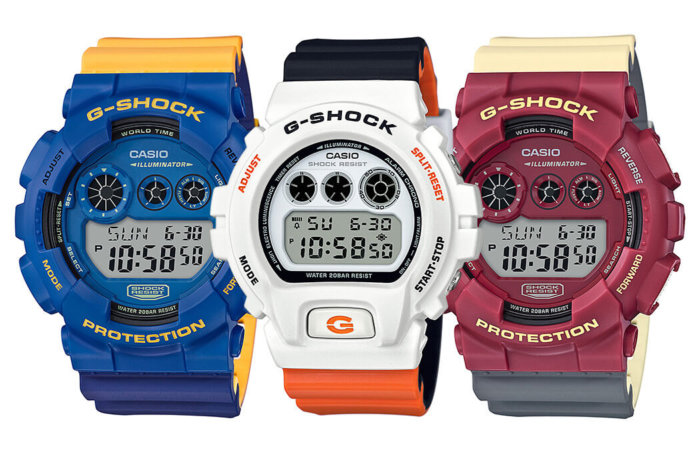 G-Shock DW-6900NC-7 GD-120NC-2 GD-120NC-4 NO COMPLY Series