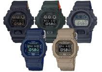 G-Shock DW-5600LU and DW-6900LU