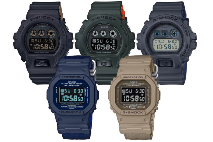 G-Shock DW-5600LU and DW-6900LU