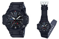 G-Shock Gravitymaster GA-1100-1A1 Black & Gray with Primary Color Accents