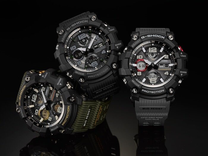 G-Shock Mudmaster GSG-100 Tough Solar