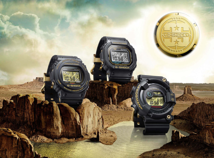 G-Shock 35th Anniversary Origin Gold Collection