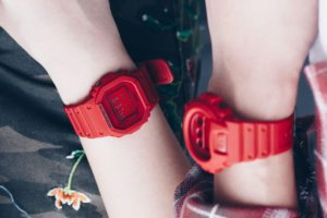 G-Shock 35th Anniversary Red Out Photo Shoot