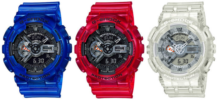 G-Shock GA-110CR-2A GA-110CR-4A GA-110CR-7A Coral Reef Color