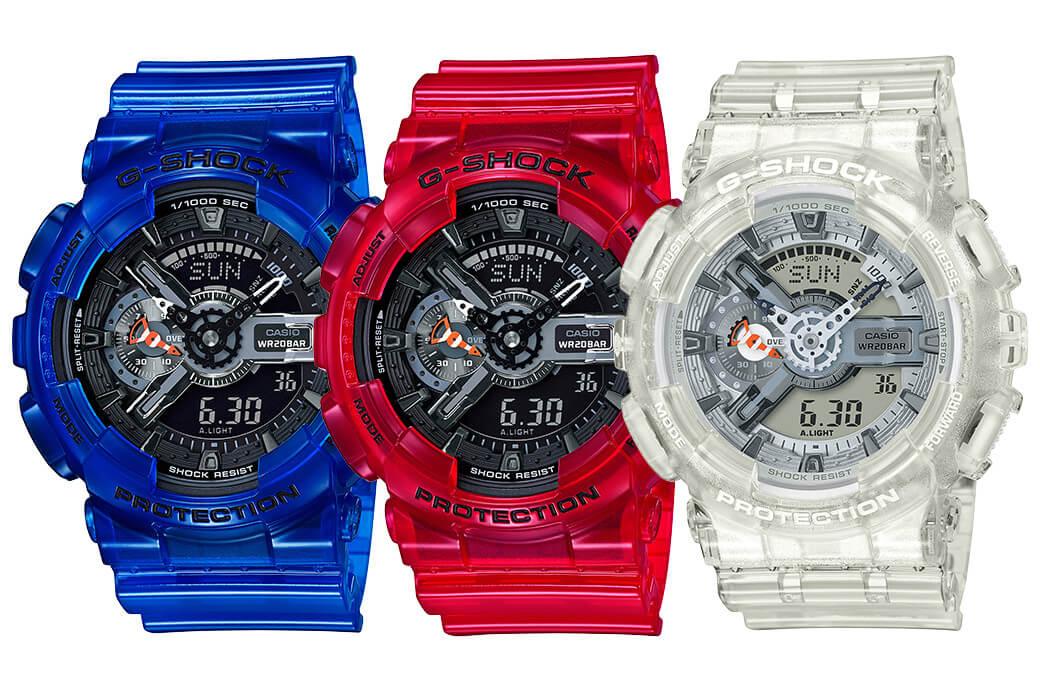 14c2da2b67f G-Shock GA-110CR and Baby-G BA-110CR Coral Reef Color – G-Central G-Shock  Watch Fan Blog