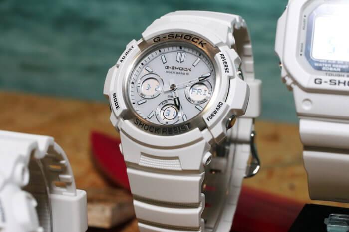 G-Shock AWG-M100SMW-7A Marine White