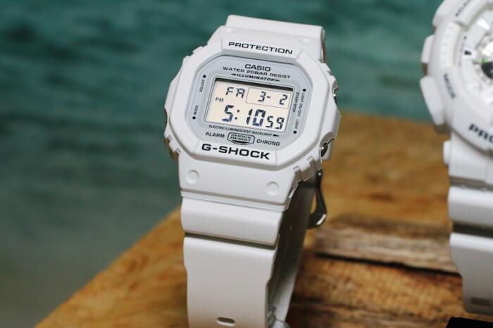 G-Shock DW-5600MW-7 Marine White