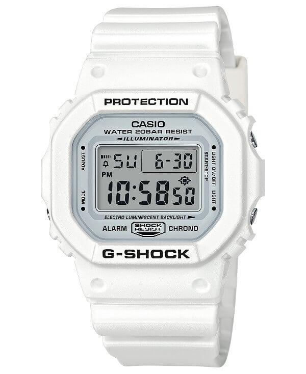 G-Shock DW5600MW-7 Marine White