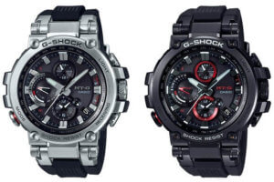 G-SHOCK MTG-B1000-1A MTG-B1000B-1A MT-G with Bluetooth and Resin Band