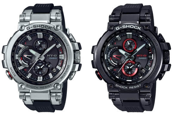 G Shock Mtg B1000 The First Bluetooth Connected Mt G G Central G