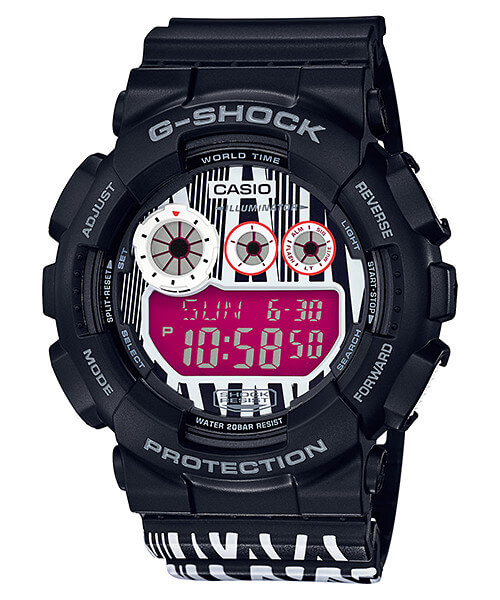 Marok x G-Shock GD-120LM-1A Collaboration Watch