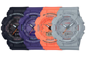 G-Shock S Series GMA-S130VC with Step Tracker